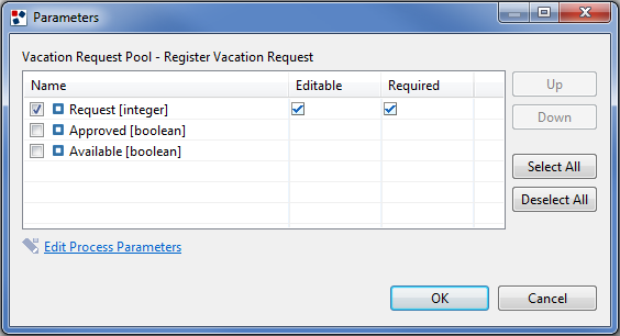 Vacation Request BPM Tutorial | WebRatio