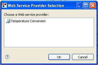 Using a Web Service Provider | WebRatio