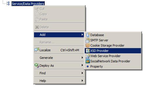 XML Schema Definition Support | WebRatio