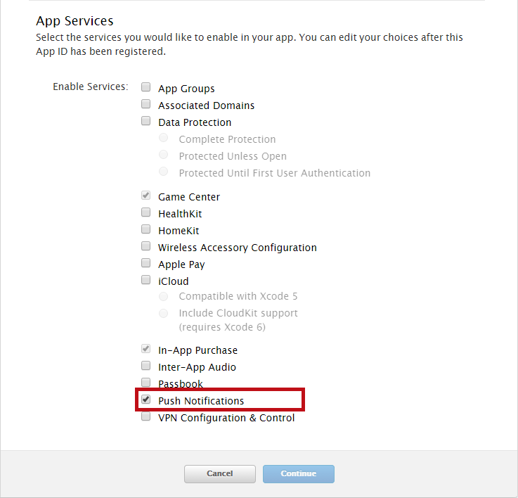 How to Generate an Apple Push Notification Service Certificate